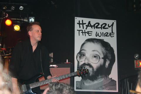 "Harry ""The Wire"" Wagner, while not a XX DJ still loomed large in Pgh punk history.  From his voice to the ""fashion statement"" of tape on his glasses, he will not be forgotten."